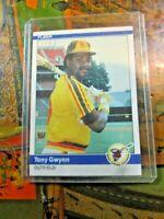 Tony Gwynn HOF 1984 Fleer Baseball #301 San Diego Padres~
