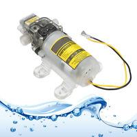 12V-24V 75PSI 60W 3.6L/min Water Pump Diaphragm Self-Priming Caravan Spraying