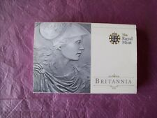 Royal Mint: UK 2010 Britannia Silver Bullion £2 Coin.