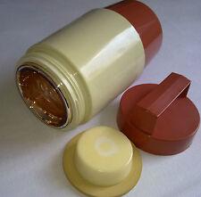 Vintage Plastic VTG Thermos Bottle Eiskübel Thermoskanne