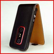Handytasche für HTC EVO 3D Tasche Case Etui Hülle HTCEVO EVO3D 3 D schwarz