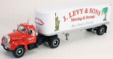 B MACK J LEVY MOVING TRAC./TRL. First Gear MINT 1st