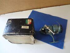 Feurer Bros Brothers Fishing Reel  FB # 412 and original box