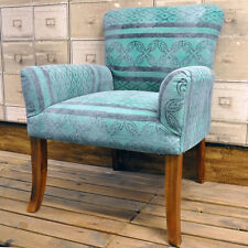 Green Arm Chair Armchair Kilim Ethnic Geometric Aztec WoodLegs Retro Hand Woven