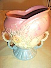Vintage Hull Vase Wild flower W5-6 1/2 Pink/Blue No chips, cracks  crazing 9388
