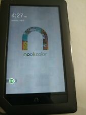 "Awesome Barnes & Noble Nook Color 8GB 7"" eReader Tablet Black BNRV200"