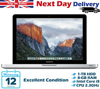 "Apple Macbook Pro 13.3"" Intel Core i5 8GB RAM 1TB HDD A1278 High Sierra A Grade"