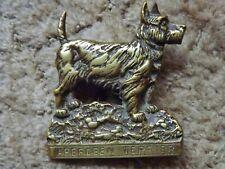 Scottish Aberdeen Terrier Scottie Dog Head Czech Breeders Association Pin Badge