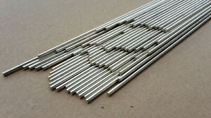1 2 5 Silberlotstangen blank Silberhartlot Silberlot 2 x 500 mm 45%  L-Ag45 670°