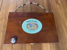 Cigar Box Purse Retro Vintage Dominican , Handmade Quality, Great Gift