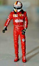 SEBASTIAN VETTEL Ferrari MISSION SF90 2019 pilot Mini DRIVER FIGURE 1:18 RESIN