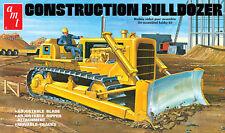 AMT 1/25 CONSTRUCTION BULLDOZER PLASTIC MODEL KIT ITEM # 1086 FACTORY SEALED