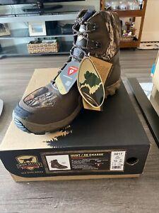 "Irish Setter Vaprtrek 8"" hunting boots - 1200g Insulation - Waterproof - SZ 10"