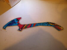 Pinball Earth Wind Fire Plastic A Original Zaccaria Flipper