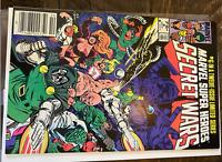 🔥Marvel Super-Heroes Secret Wars #6 -1st Cameo SpiderWomanHulkIron ManSpdrMn