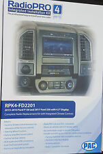 NEW Pac RPK4-FD2201 Radio Replacement Kit Climate Controls 2015-2017 F150 F250