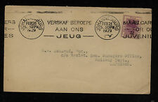 Orange River Colony #4 on cover local use  1929     KL1220