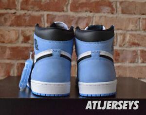 Nike Air Jordan 1 Retro High OG UNC University Blue GS Men Size 9.5