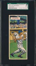 1955 Topps Double Headers Unperforated 69/70 Williams SGC 88/8 (Pop 1, Highest)