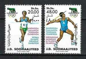 Somalia 1987 Sc#5789   OLYMPHILEX '87-Rome   MNH Set $6.85