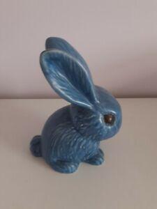 Sylvac Large Blue Rabbit 1027 (8 inches)