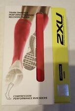 2XU Compression Performance Running Socks Pink Women's Large