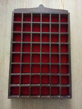 "Wooden Thimble Display Case 12"" X 8"""