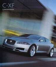 JAGUAR C-XF XF Concept Car Prospekt Pressemappe Hochglanz ++++++++++++++++++++++