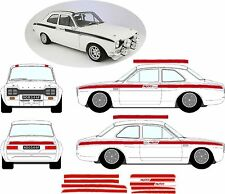FORD Escort Mk1 Messico ADESIVI STRIPE Kit Decalcomanie VINILI grafica RS GT AVO