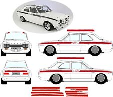 Ford Escort MK1 MEXICO STICKERS STRIPE KIT DECALS VINYLS Graphics RS GT AVO