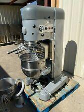 Hobart 80qt 40qt set up dough mixer M802 with bowl guard Pizza bakery donut