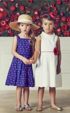 Janie And Jack Blue Parisian Poppy Dress Size 5