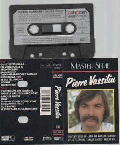 Pierre Vassiliu Master Série Cassette K7 Tape best of  qui c'est celui la