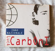 LUCA CARBONI cd singolo Promo INNO NAZIONALE 1995 supplemento a MUSICA