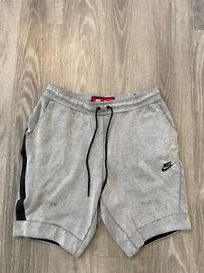 Nike Sportswear Tech Fleece Shorts Gray Size Medium