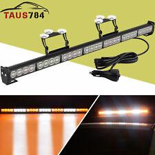 31Inch 28 LED Emergency Warning Flash Strobe Light Bar Traffic Advisor Light
