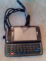 LG Rumor Touch VM510 - Black (Virgin Mobile ) Cellular Phone