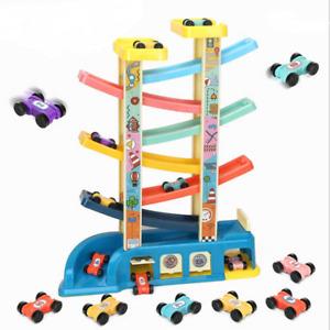 Toy Baby Boy Car Ramp Race Tracks Racer Kids Toy Car Set