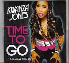 Kwanza Jones-Time To Go Promo cd maxi single 9 tracks disc 2