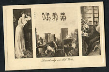 C1910 Pictorial Comedy Card No.132: Somebody on the Line: Cupid/Telephone