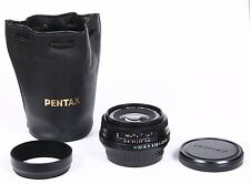 Pentax SMC Pentax-FA 43mm F/1.9 Limited Lens in Black