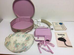 Vintage Brother Mademoiselle 1111 Portable Hair Dryer Dryer Pink