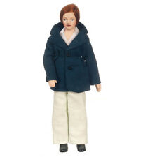 Dollhouse Porcelain Modern Father Doll by Town Square Miniatures