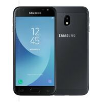 NEW Samsung Galaxy J3 2017 SM-J330F 16GB UNLOCKED BLACK 4G LTE 13MP UK STOCK