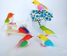 60 ARTIFICIAL BIRDS ORNAMENTS FOAM FLORAL CRAFTS DECOR WHOLESALE FREE EXPRESS