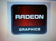 Radeon Graphics Sticker 13.5 x 16mm Version AMD ATI Badge LOT 0F 5 USA Seller
