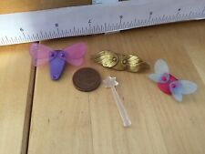 6411 Fairy wand Wings & Holders/ capes for Child size Figures - New Playmobil