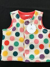 Gap Nwt Reversible Brightly Colored Padded Vest - 3-6 Months