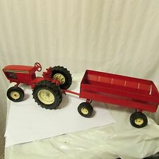 Ertl Farmall (?) Tractor & Wagon for Parts or Restoration 1:24 (?)