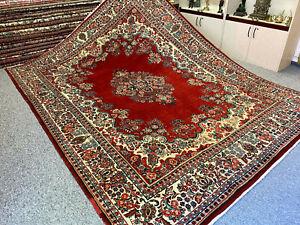 Alter Perserteppich Orientteppich Saruk Mohajeran Teppich 360 x 266 TOP zustand